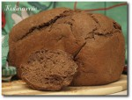 Czarny chleb rosyjski z automatu